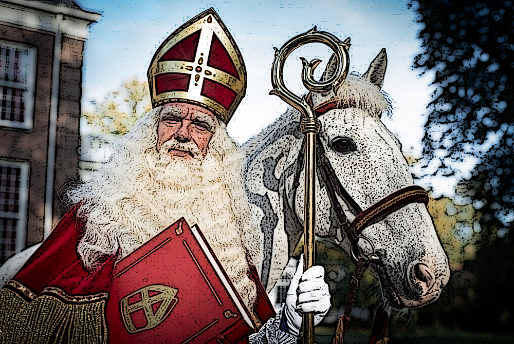 Advent Nikolaus Santa Claus Sinterklaas
