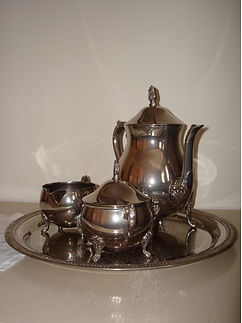 Teatime bei No. 31 im Rosengarten