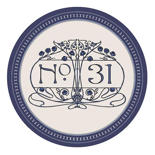 Logo B&B No. 31 im Rosengarten