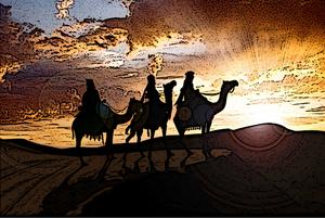 Reyes Magos - die 3 Weisen aus dem Morgenland
