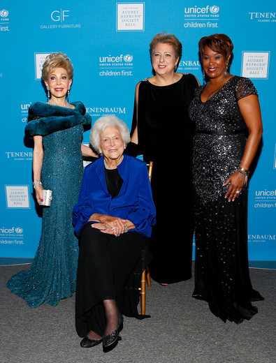 Margaret Alkek Williams, Barbara Bush, Caryl M. Stern, and Deborah Duncan