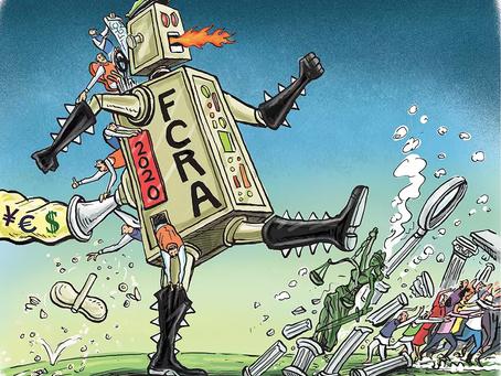 "The FCRA Amendment 2020: The Dominance Of ""License Raj"" Over Philanthropic Activities"