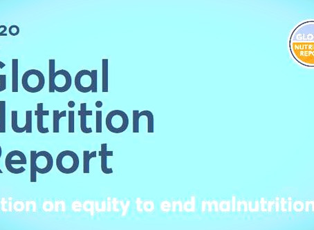 Global Nutrition Report, 2020 – An Analysis in the Context of COVID-19 Pandemic