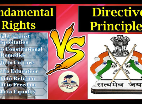 Relationship Between Fundamental Rights And Directive Principles