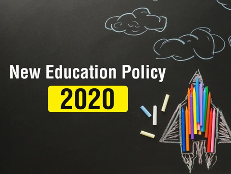 New Education Policy, 2020