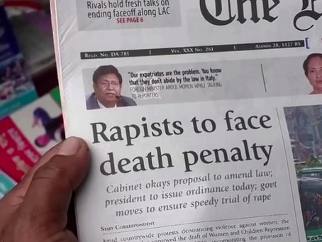 Bangladesh Takes a Stern Stance towards Rapists, Can the Death Penalty serve as a deterrent?