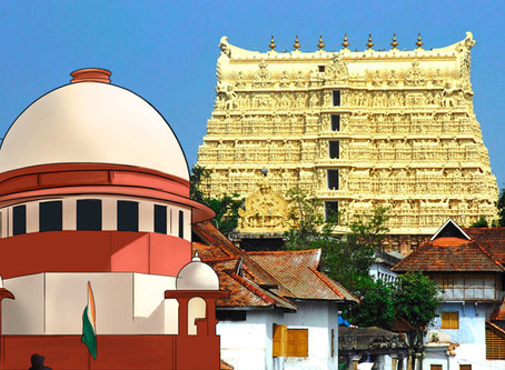 The Supreme Court's Verdict on the control of World's Richest Temple: Padmanabhaswamy Temple