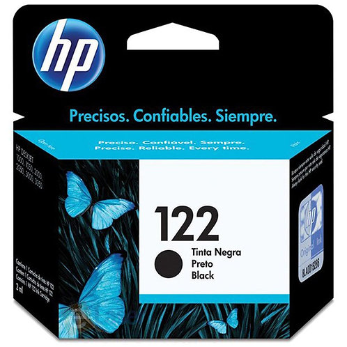 Cartucho Preto HP 122