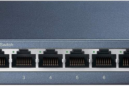 Switch de Mesa Gigabit de 8 Portas