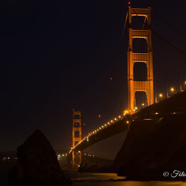 San Francisco at night continued