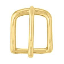 Needleppoint belt finishing brass square buckle