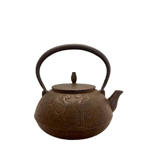 鉄瓶 平丸型 鳳凰 1.2L