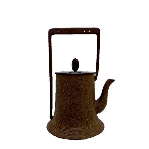 鉄瓶 波寸胴(唐銅蓋) 0.7L