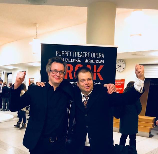 Croak, world premiere, Pori Opera, 2018