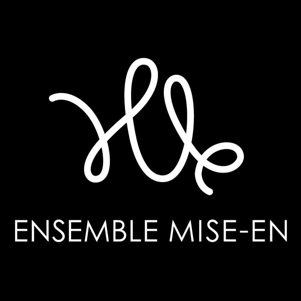 Logo of ensemble mise-en. Logo can be found on the ensemble's official Facebook page.