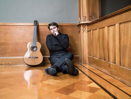 Patrik Kleemola to premiere Markku Klami's Etudes for guitar