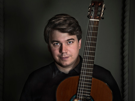 Patrik Kleemola gives the YouTube premiere of Klami's Etudes for guitar