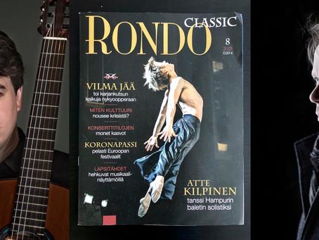 September premieres with Lauri Sallinen & Seinäjoki City Orchestra and Patrik Kleemola
