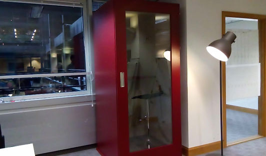 Soundproofing of the MEAVO Office Phone Booth