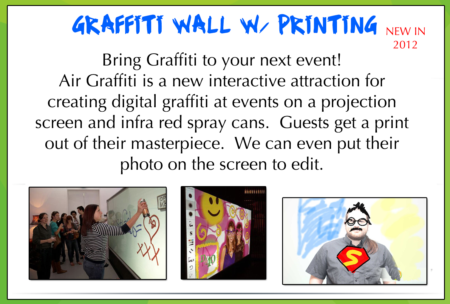 Graffiti Wall Flyer