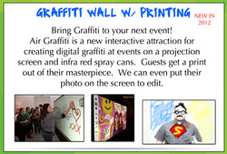Graffiti Wall Flyer
