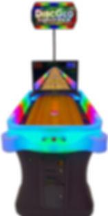 DiscGlo Shuffle Virtual Shuffleboard / Bowling