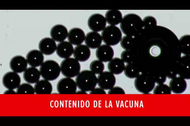 """Dra. Zandre Botha:Microscopio muestra horrorífico material autoensamblamble en las pseudo""""vacunas"""""""