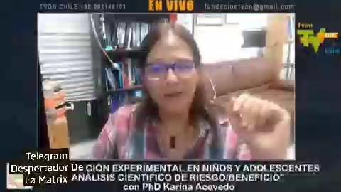 Dra. Karina Acevedo: Sacrificar a los menores por proteger a los adultos es terrible.