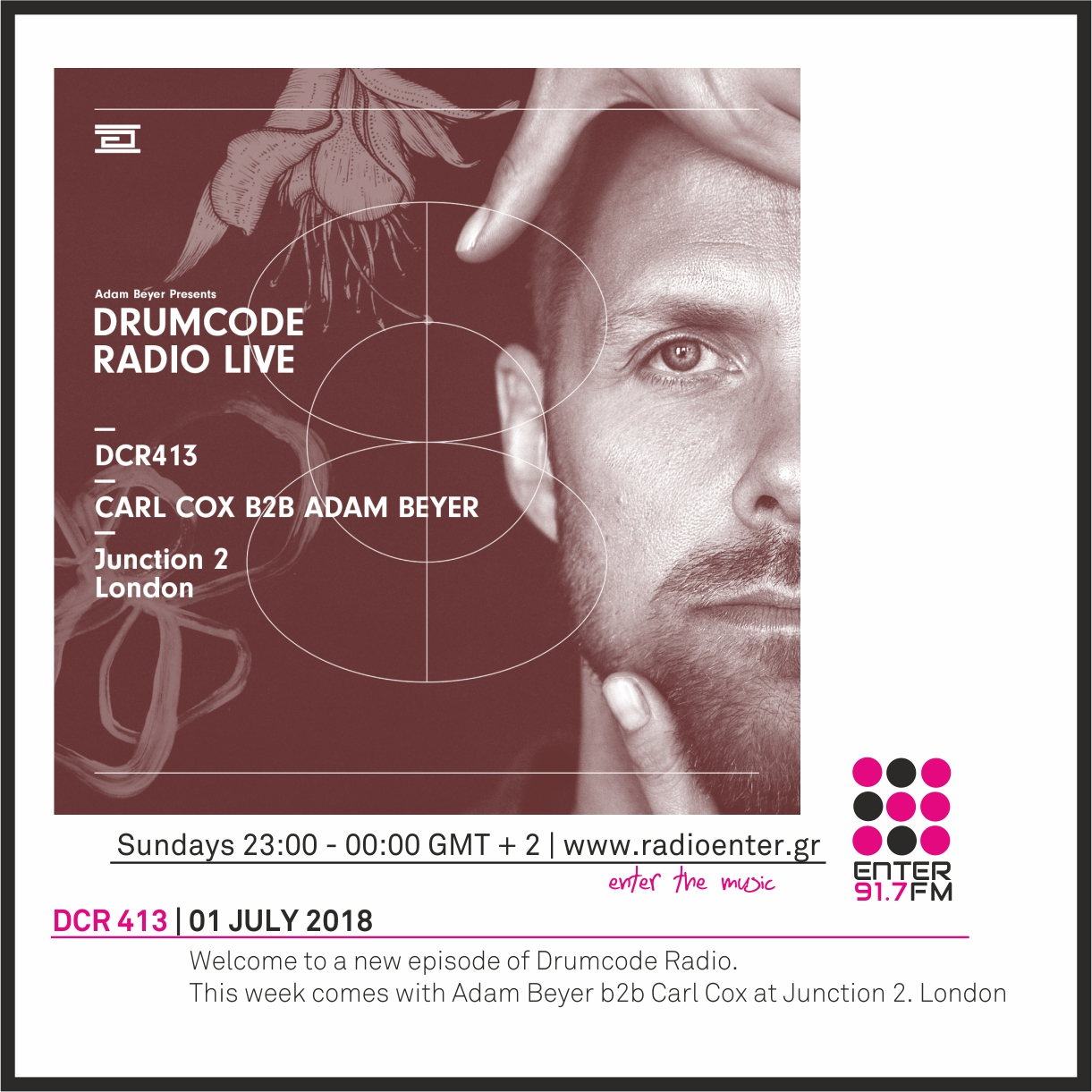 2018.07.01 - Adam Beyer Drumcode Radio 413