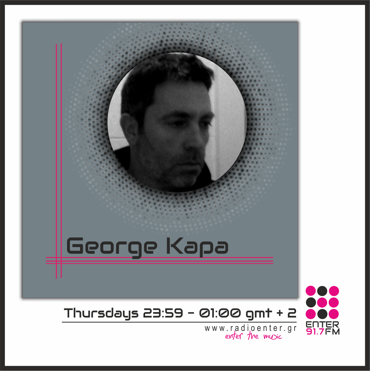 George Kapa _ Radio Enter 2018