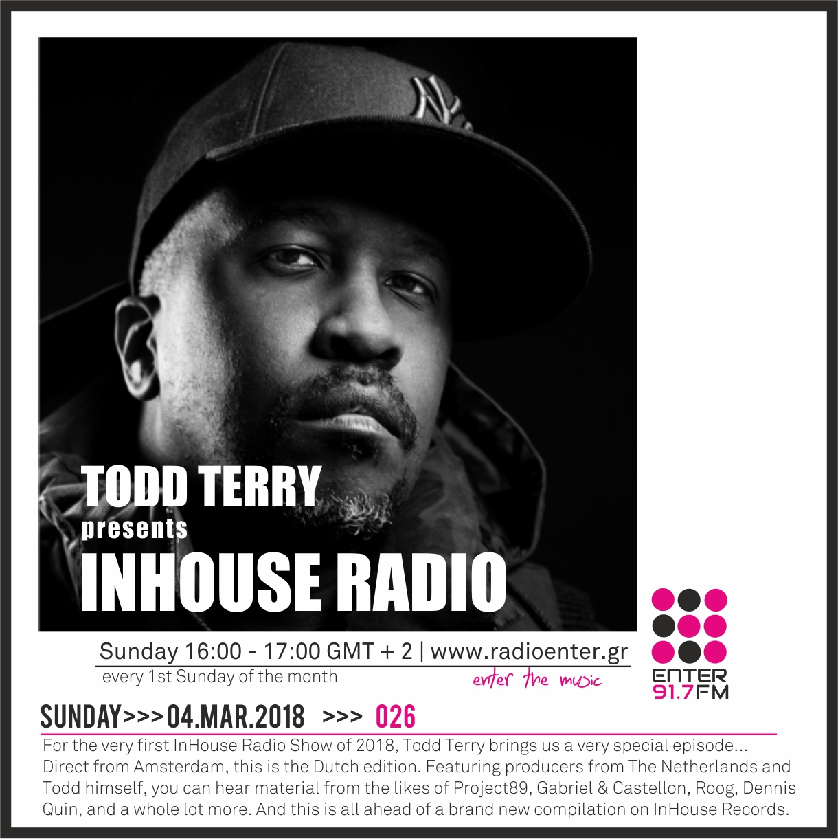 2018.03.04 - Todd Terry 'InHouse Radio' 026