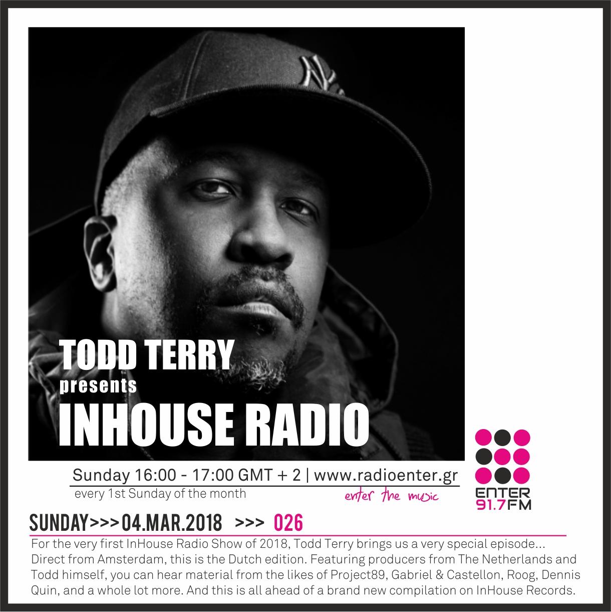 2018.03.04 - Todd Terry 'InHouse Radio' 026
