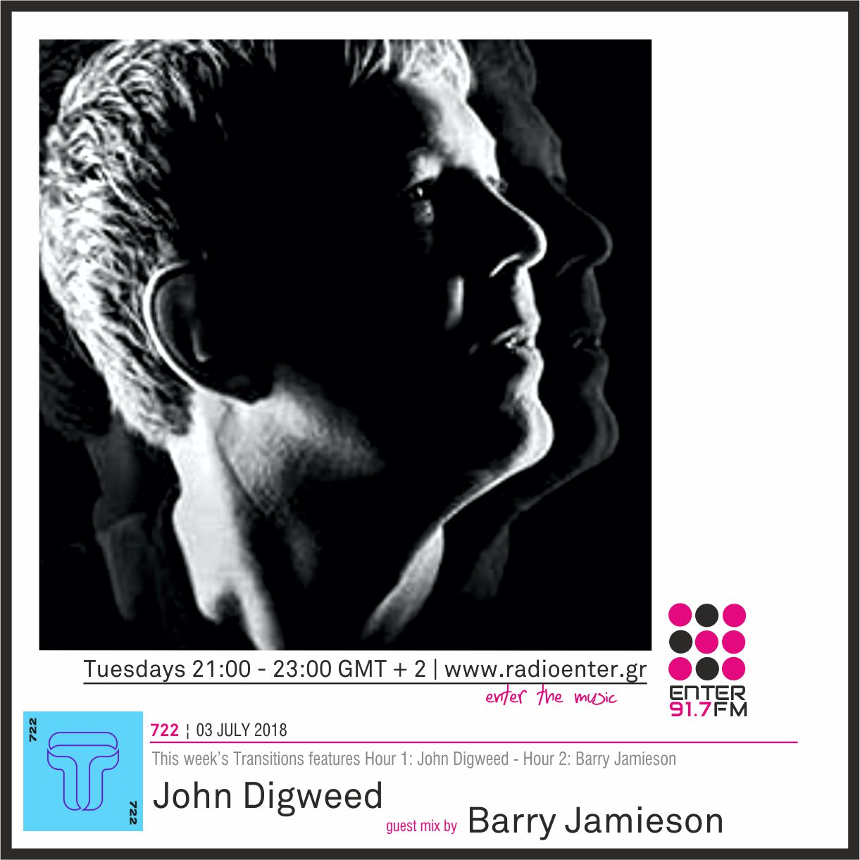 2018.07.03 - John Digweed 'Transitions' 722