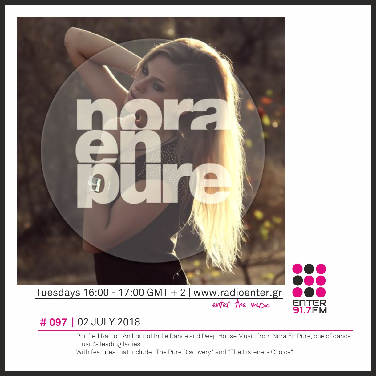 2018.07.02 - Nora En Pure 'Purified Radio' 097