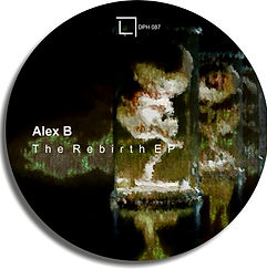 DPH 087 Alex B - The Rebirth EP_cover.jp