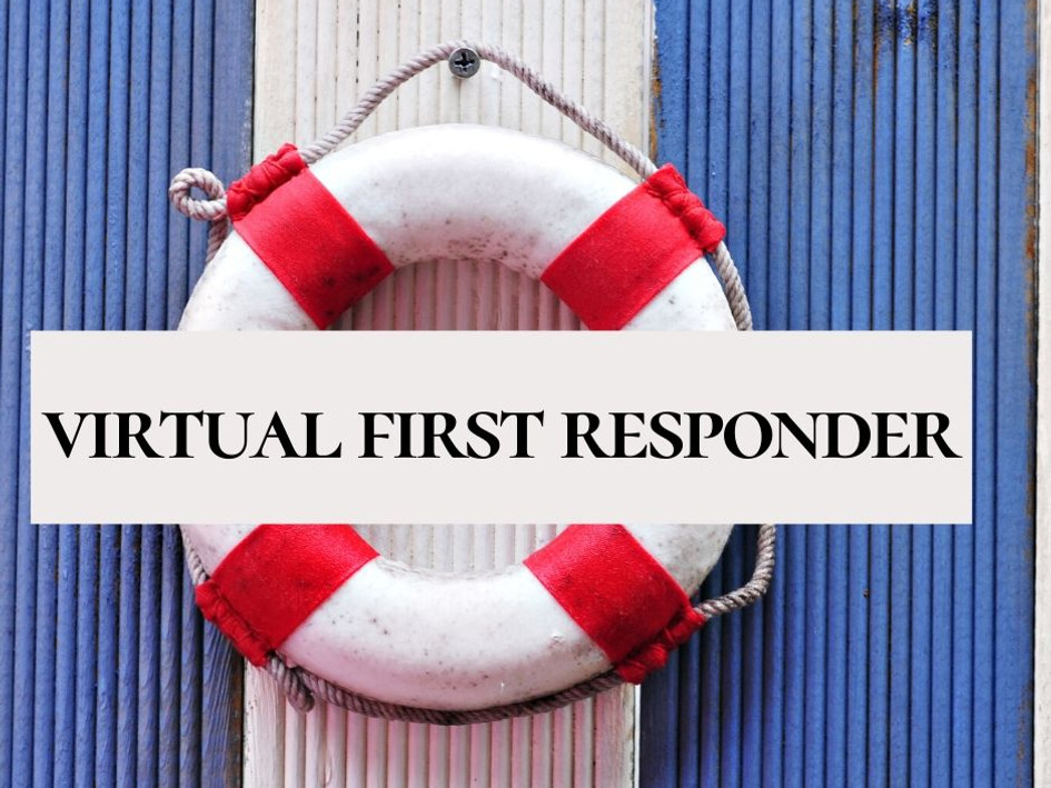 Virtual First Responder Discussion March 27, 2020