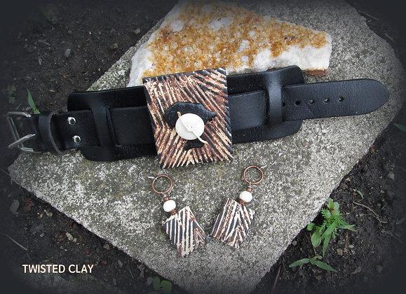 Polymer Clay Bracelet Set BIG BRACELET #1