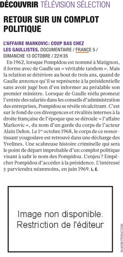 Presse Markovic France 5-2