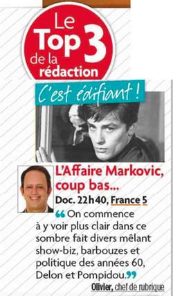 Presse Markovic Tele Star