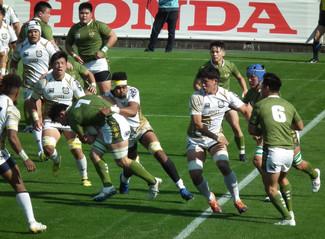 関東大学ラグビーリーグ戦 対流通経済大学戦応援