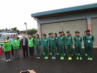 第21回関東大学女子駅伝対校選手権大会の応援に行きました。