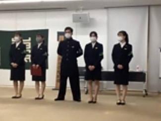 全學應援團 活動状況の報告と新幹部お披露目式