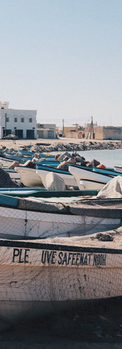 Omani fishing village