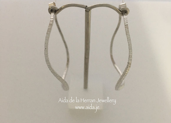 Wobbly Hoop Earrings