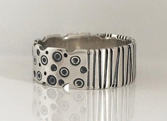 Bubbles & Stripes Ring
