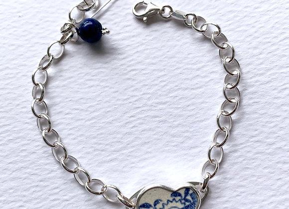 Sunrise Pottery Shard Bracelet
