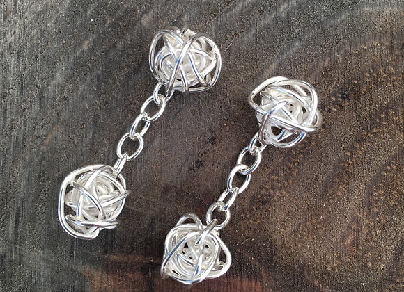 Wire Ball Cufflinks