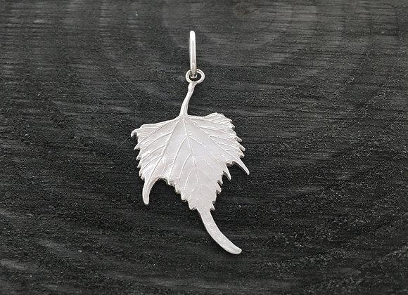 Grapevine Leaf Silver Pendant