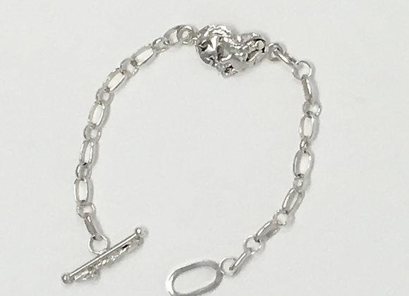 Fused Heart Bracelet