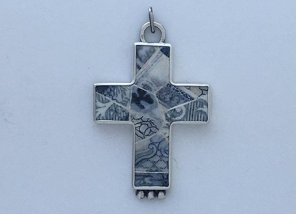 Large Jersey Tile Cross